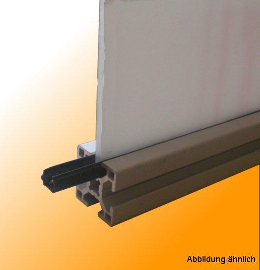 Item kompatibel 1000mm Typ I Abdeck- und Einfassprofil Nut 8 Kunststoff PP