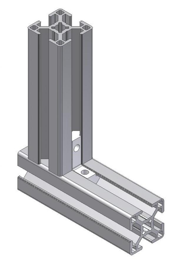 Sonstige Betriebsausstattung Innenwinkel 20 B-Typ Nut 6 M5 fr ...
