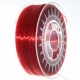 0,33kg 3D Filament PET-G 1,75mm rubin rot transparent  (Made in Europe)
